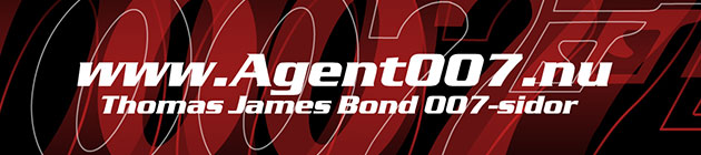 Agent007.nu - Thomas James Bond 007-sidor
