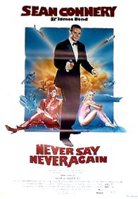 Never Say Never Again poster